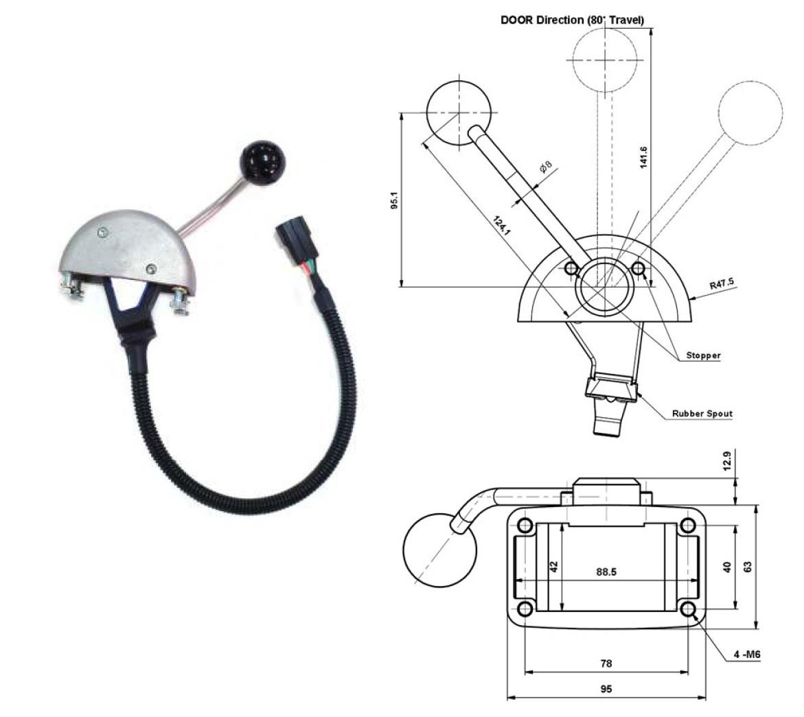 gms single ac  c e m   motor marine kit 48v